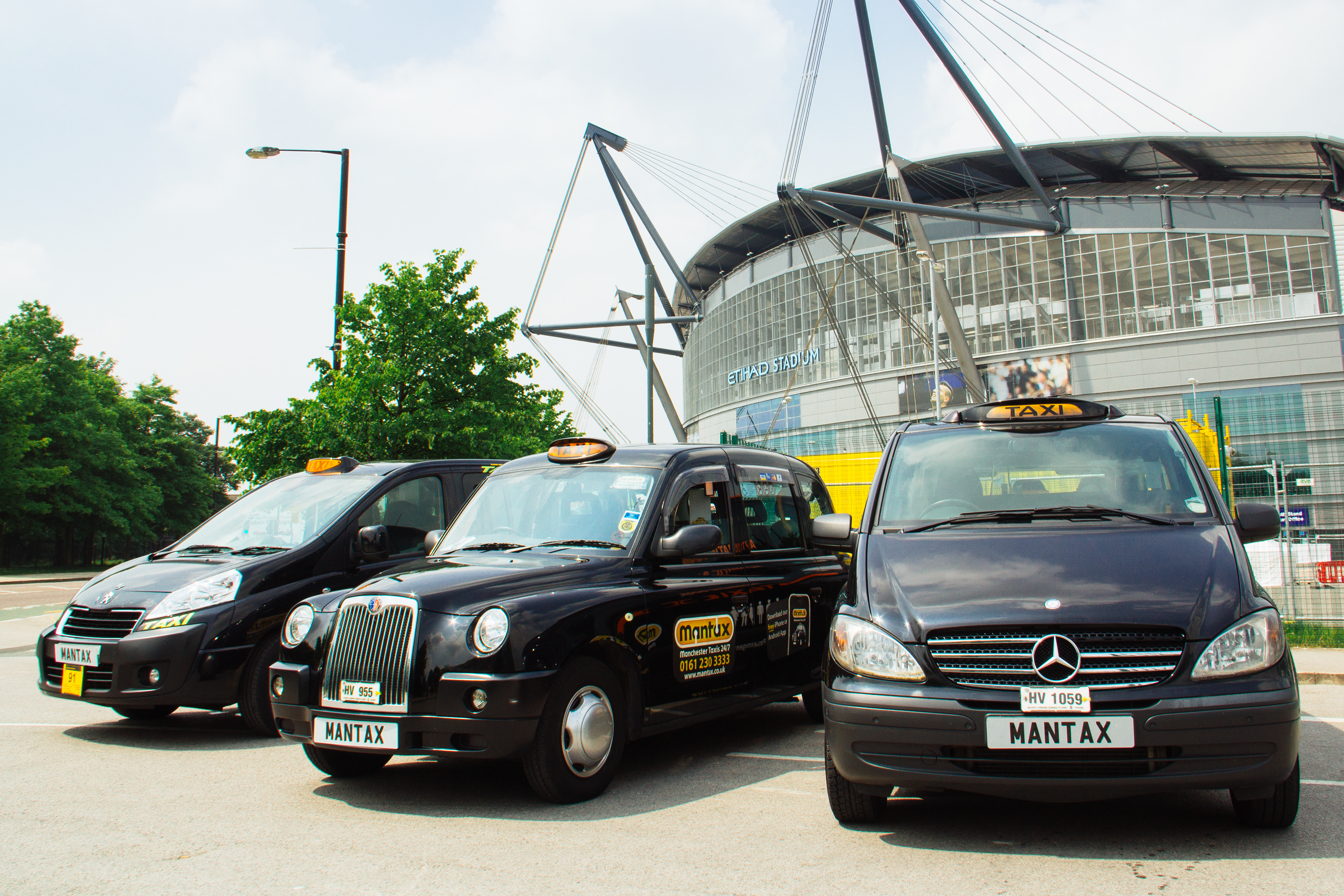 Mantax | Manchester's Largest Fleet Of Black Cabs